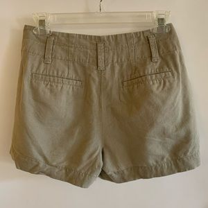 Ann Taylor Khaki Shorts
